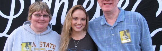 DANIELLE BRADBERY HITS THE ROAD