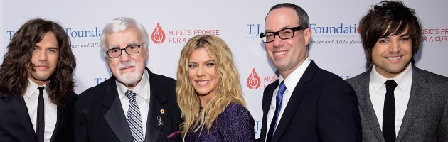 THE BAND PERRY JOINS STAR STUDDED T.J. MARTELL EVENT