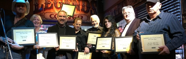 INDEPENDENT MUSIC NETWORK  HONORS TOP ARTISTS